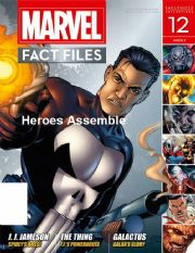 Marvel Fact Files #12 Eaglemoss Publications